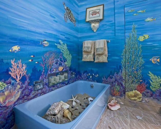 фантастична баня  Морско дъно