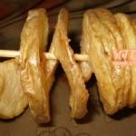 пържени картофи на шишчета