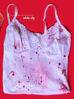 кървави дрехи