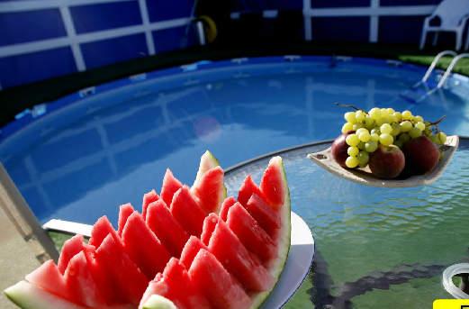 диня и плодове