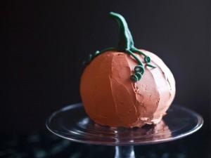 Торта - тиква за весело настроение на Хелоуин