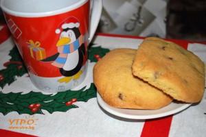 Курабийки с шоколад и ... Коледни сбъдвания
