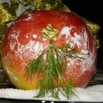 Новогодишна ябълка