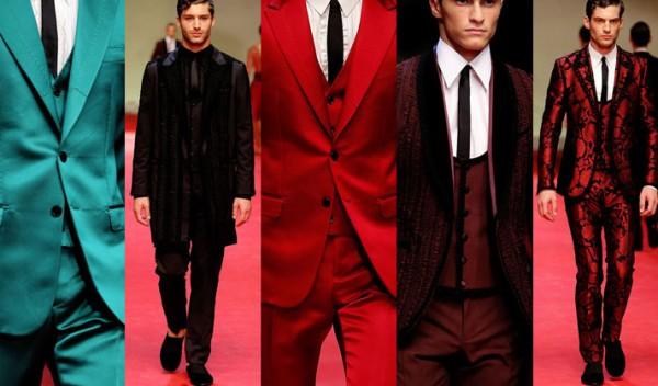 В последните няколко години, цветовата гама в мъжките облекла взе нов връх