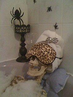 скелет в банята