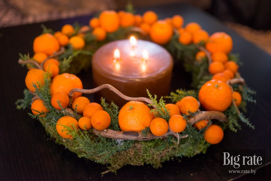 празнични мандарини