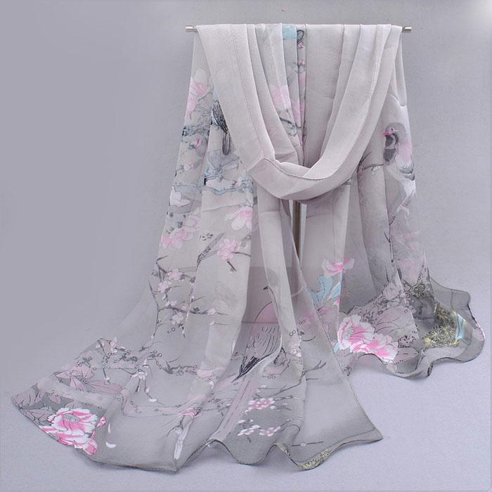 нежен, ефирен шал