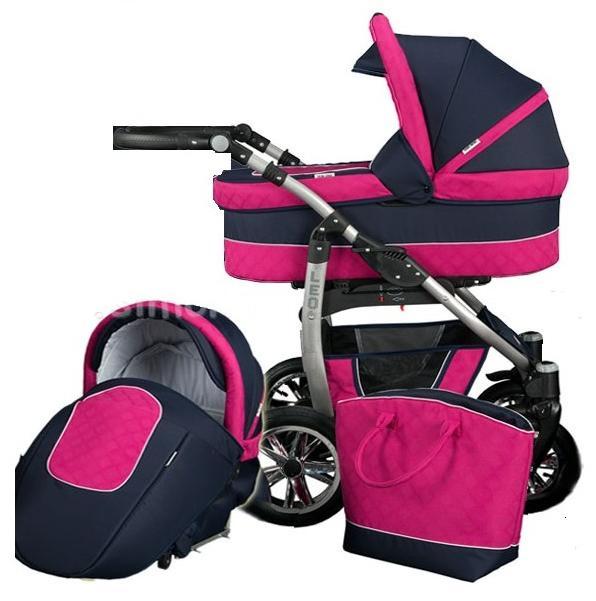 Бебешка количка 2 в 1, Baby Merc, модел Leo