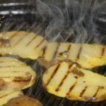 печени картофи на скара