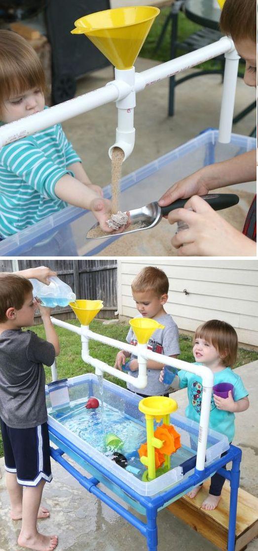 идеи за детски занимания с тръби