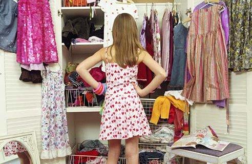 разчистване на гардероба