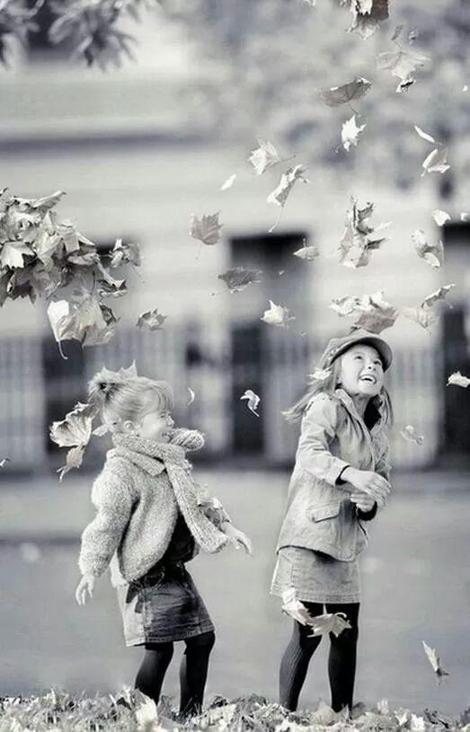 деца и есен