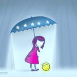 Весело чадърче