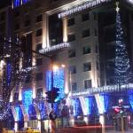 Коледни светлинки