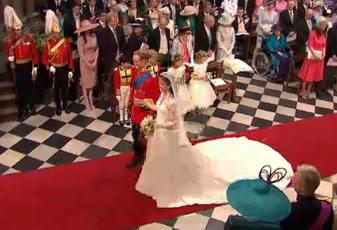 Сватбата на Принц Уилям и Принцеса Кейти Мидълтън