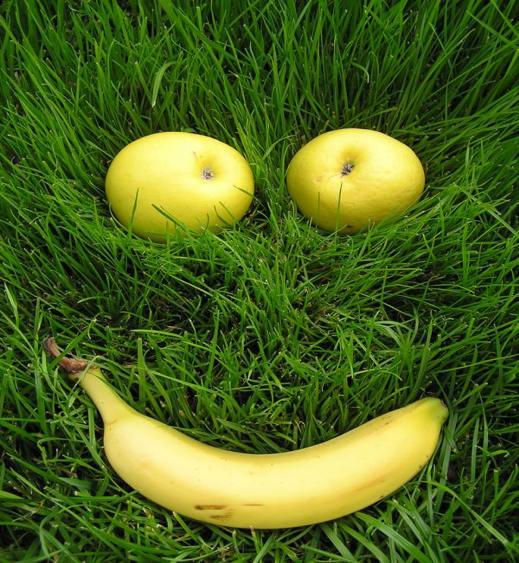 усмихнат банан