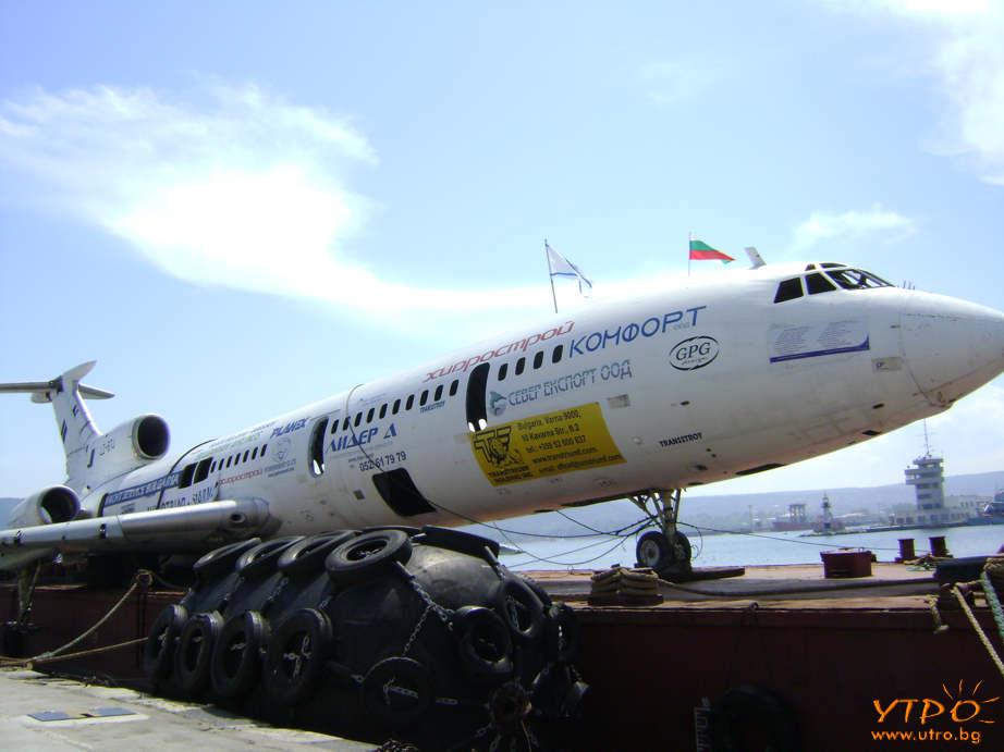 Самолета на Тодор Живков