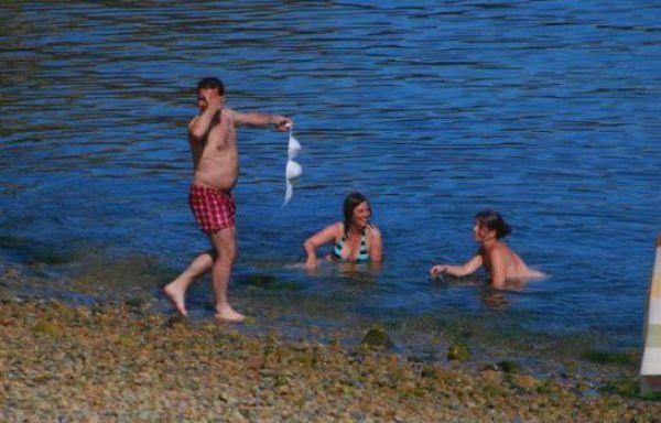 забавни картинки на плажа