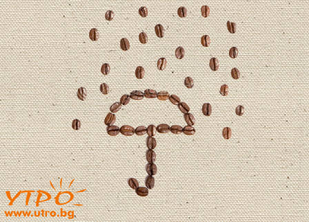 кафе и дъжд