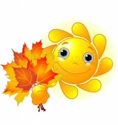 слънце есен