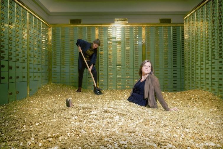 басейн с пари