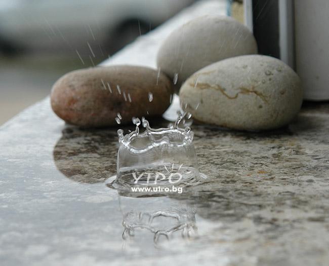 мигновение - дъждовна капка