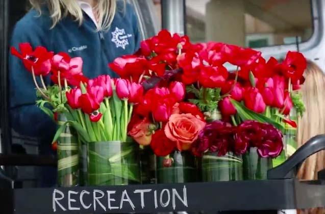 Начинанието втория живот на цветята носи красота и радост на хората