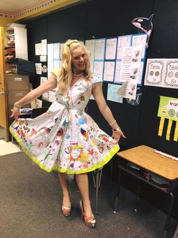 учителка с креативно мислене