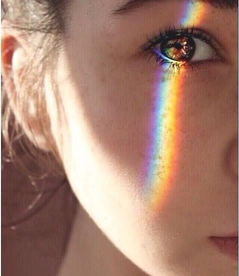 дъга око