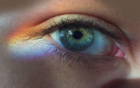 дъга очи