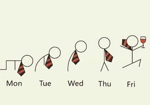 еволюция на работната седмица
