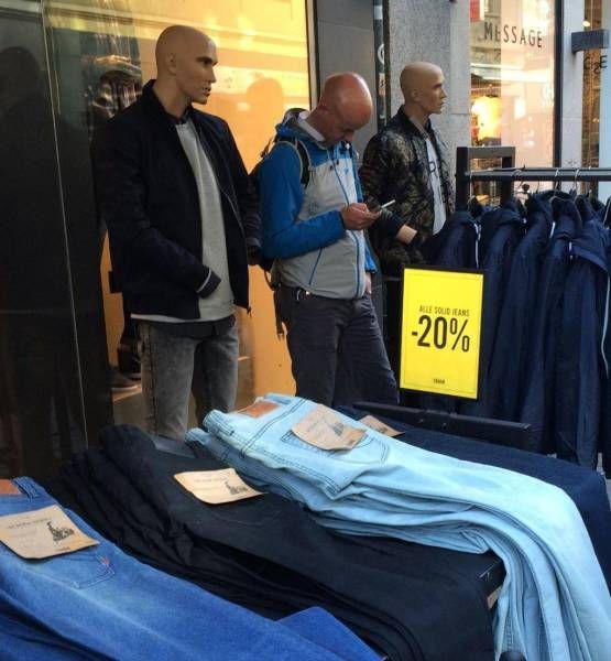 манкен шопинг