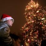 Коледни светлини в София и Варна