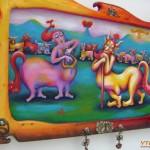 Изложба: Весели образи от митологията и фолклора