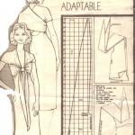 кройка на универсална рокля