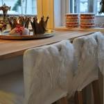 Коледна декорация на столове