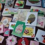 Пролетна дъга от картички