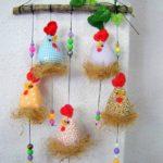 декорация за годината на петела