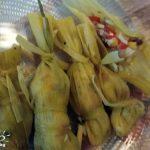 идея за използване на царевични листа тамале