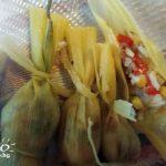 царевични листа с ориз