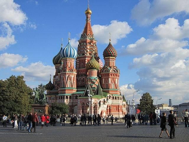 "Храм ""Свети Василий Блажени"" на Червения площад в Москва"