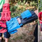 3D протези за деца във вид на супер герои